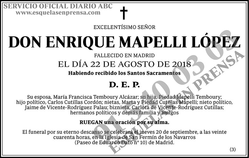 Enrique Mapelli López